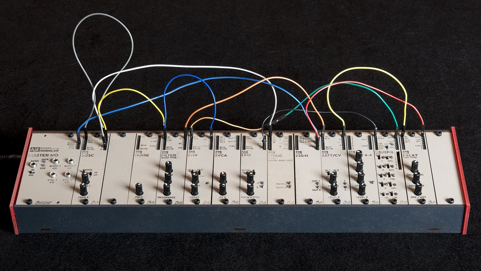 Tangible Waves New Complete Modular System Is Retailing For 328 Finn Wiring Diagrams Ae Rack