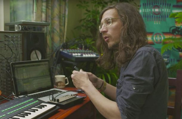 Legowelt synth star shepherd