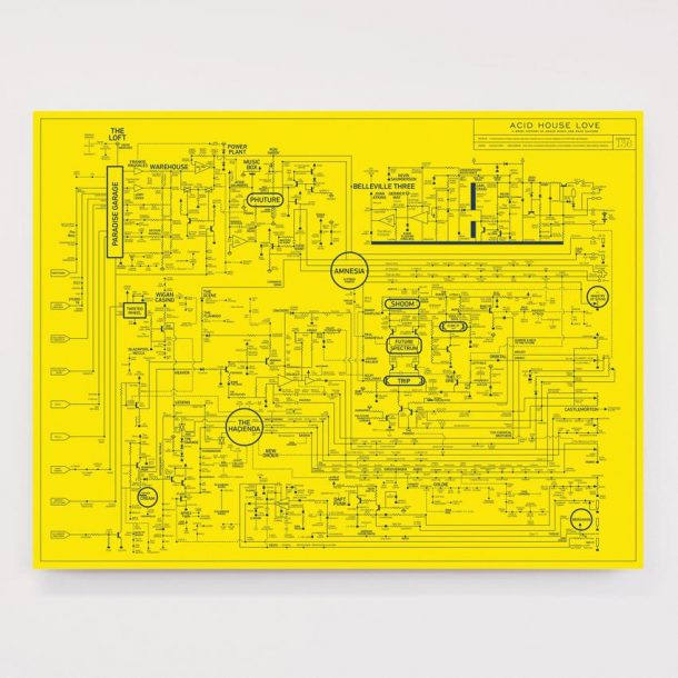 This Poster Diagram Maps The History Of Acid House Music And Rave Culture