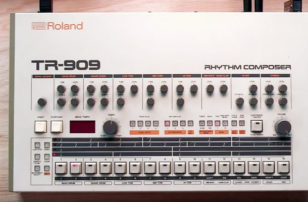 Learn To Play The 909's Most Infectious Rhythms In This Video