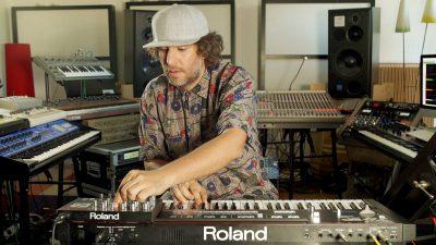 Mathew Jonson Roland JX-3P Synthesizer Music Gear