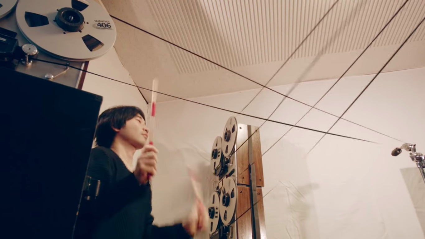 This Japanese Video Shows You How To Make Drum Sounds From Reel-To-Reel Tape