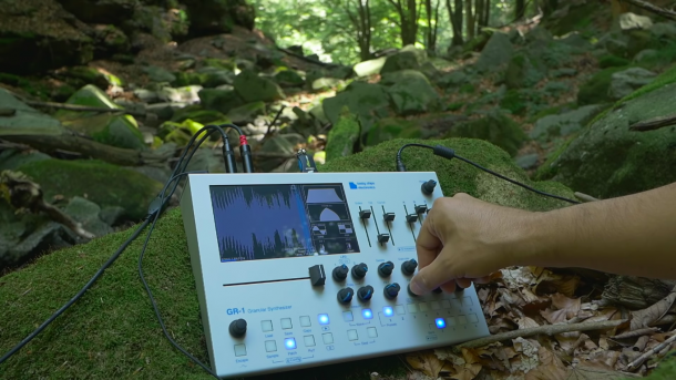 Ease Into The Week With This Video Of A Granular Synth Playing In A Forest