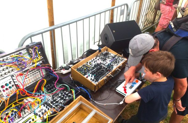 building eurorack system for kids