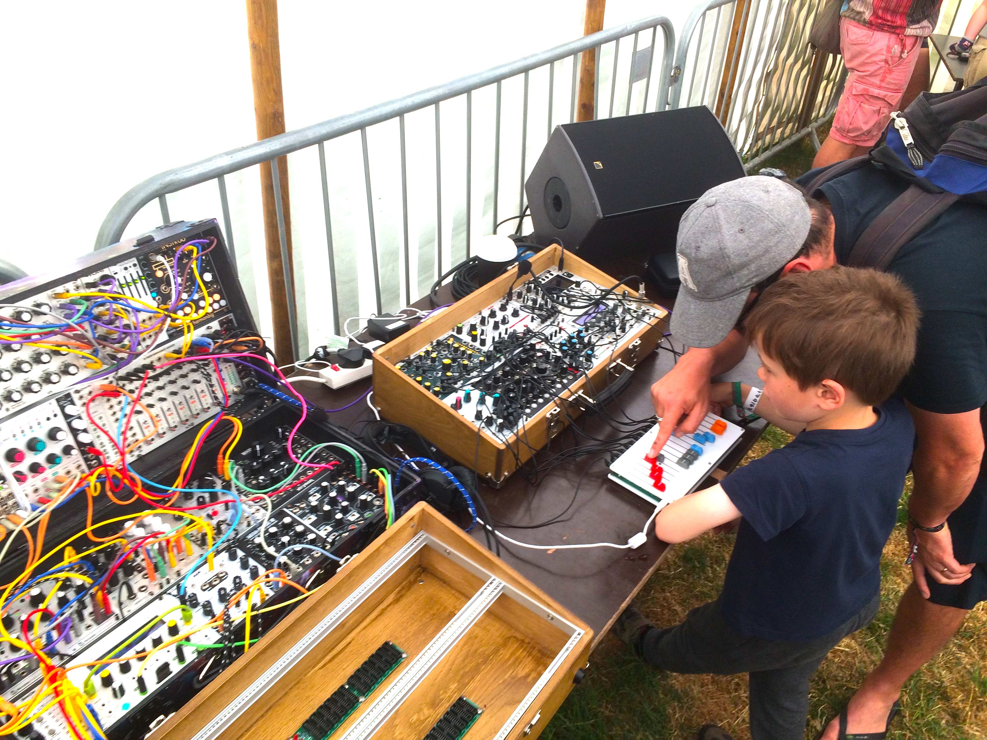 building eurorack system for kids