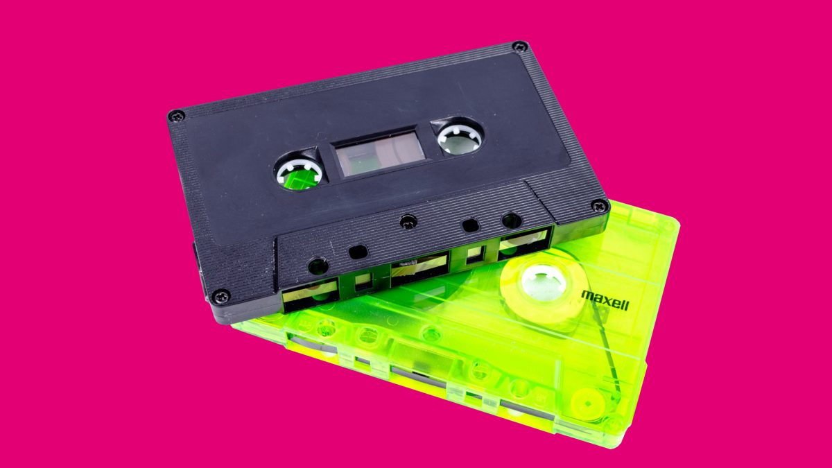Pirate Radio Mixes Rave Mixtapes Techno Music Tape Cassette