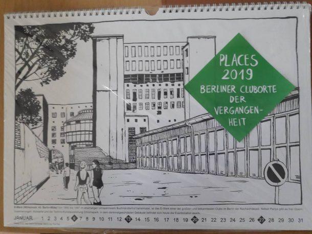 Techno Calendar Berlin Clubs