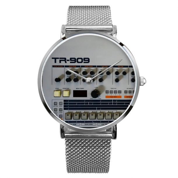 Never Miss A Beat With This TR-909-Themed Wristwatch