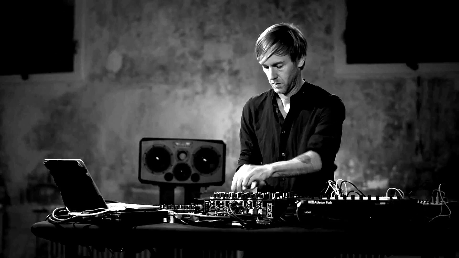 Richie Hawtin is featured in our video about dj technology.