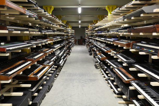 A Swiss Museum Wants To Let You Play Over 5000 Electronic Instruments In Its Gigantic Archive