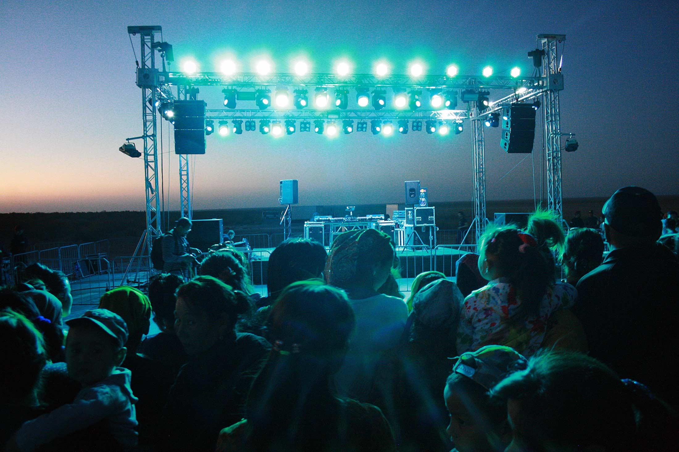 Dancing Uzbekistan Electronic Music Festival Techno Underground