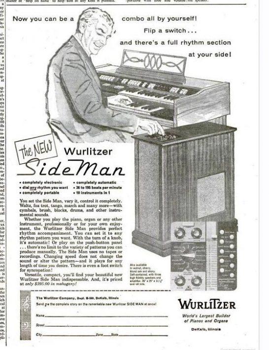 Vacuum Tube-Powered Drum Machine From 1959