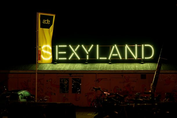 Sexyland isn't the first place we think of when we think of Amsterdam Dance Event, but it was a highlight this year.