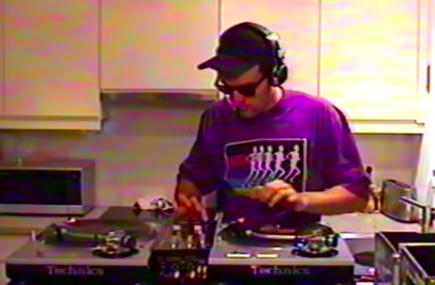 This Video Of A Guy DJing Vinyl In His Kitchen Will Make You Miss '90s Turntablism