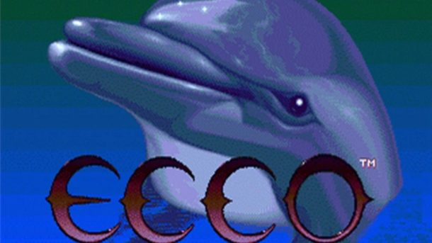 Photo from Ecco the Dolphin for Sega Master System.