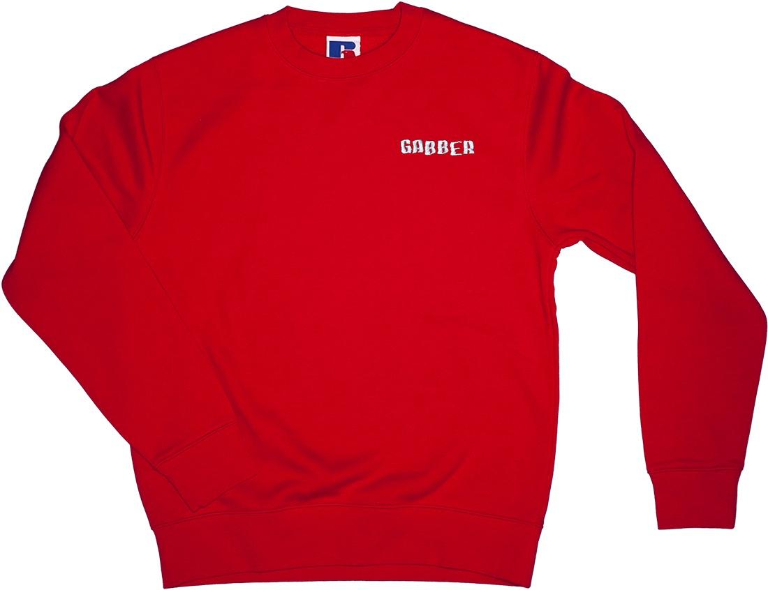 gabber sweatshirt cant decide