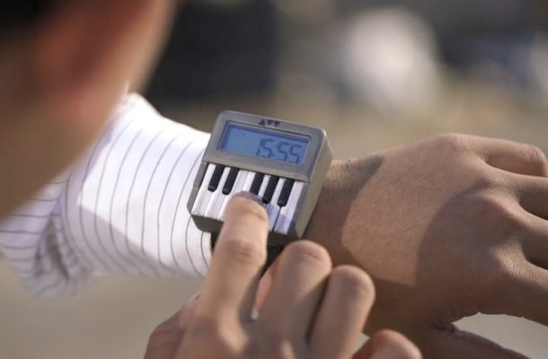 synthwatch wearable synthesizer press