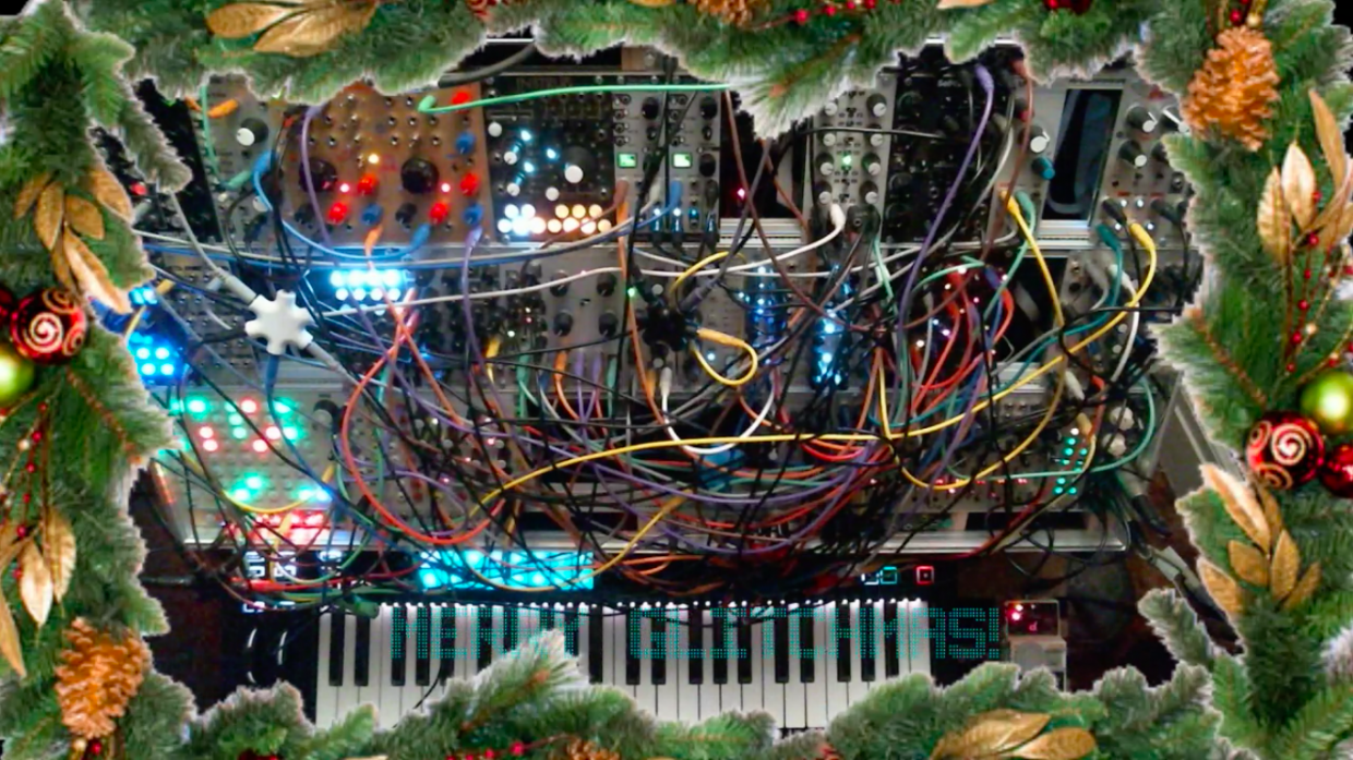 Stream Christmas Music.This Twitch Stream Lets You Listen To Demented Modular Synth