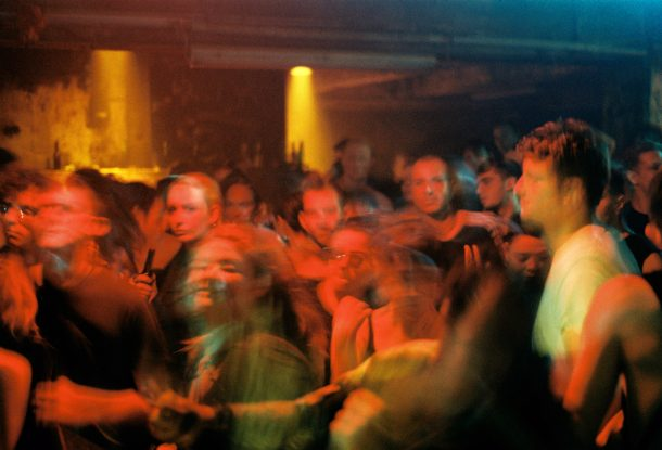 A dance floor in motion