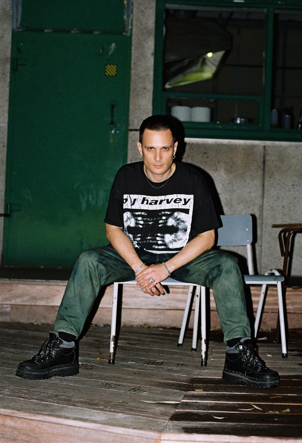 PAN label founder Bill Kouligas for Glamcult