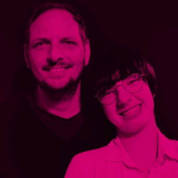 Nico and Lilli Deuster im TEB Podcast, Foto by Wiebke Jann