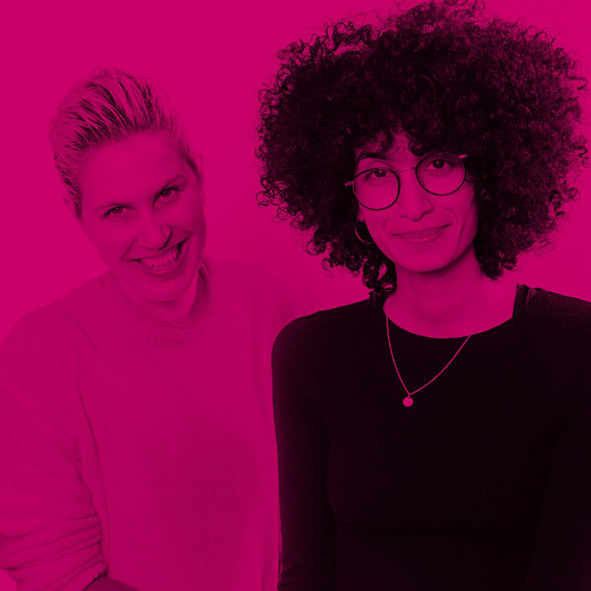 Sara Farina und Johanna Grabsch im TEB Podcast, Foto by Matze Hielscher