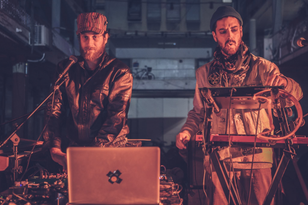 red axes electronic beats clubnight
