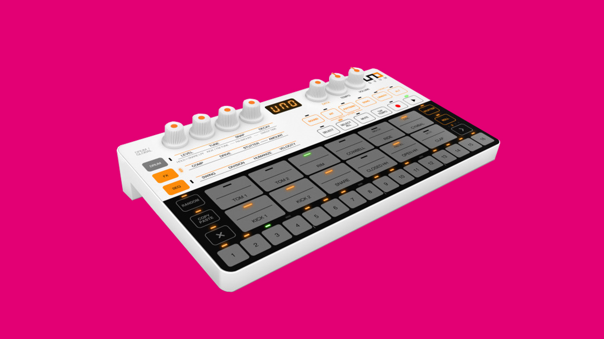 IK Multimedia's New Portable Drum Machine Gives You Analog