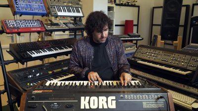 Mathew Jonson Presents His Synthesizer Favourites: Korg Trident