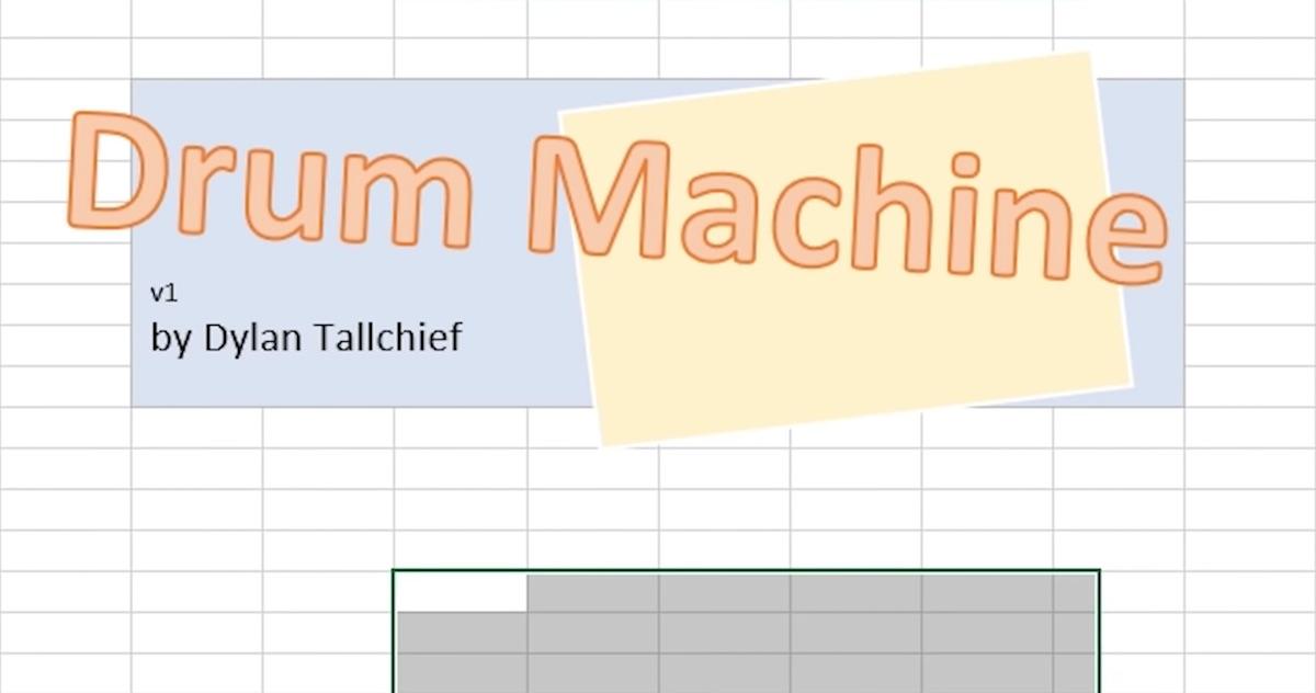 drum-machine-excel