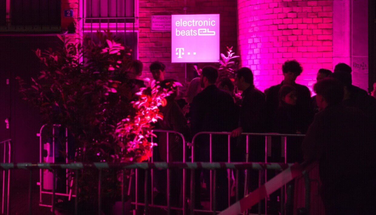 The line to see Kerri Chandler at Gewölbe was extremely long.