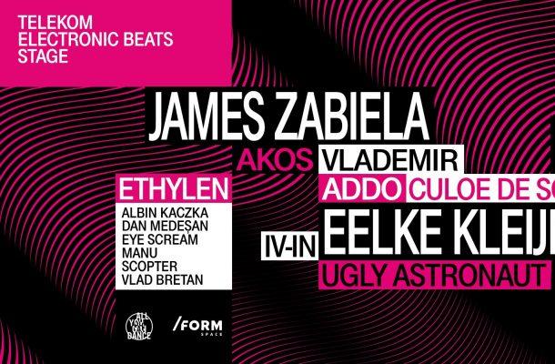 Telekom Electronic Beats aduce un lineup electronic la Awake Festival, Gornești, Mureș, între 17 și 19 august