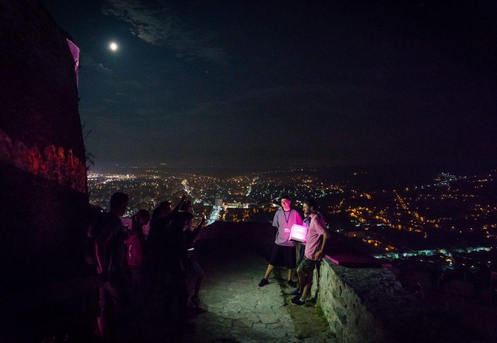 Citadela ne-a activat toate simțurile într-un cadru natural feeric – vezi câteva imagini și două videos / meet & greet Livio & Roby TEB stage