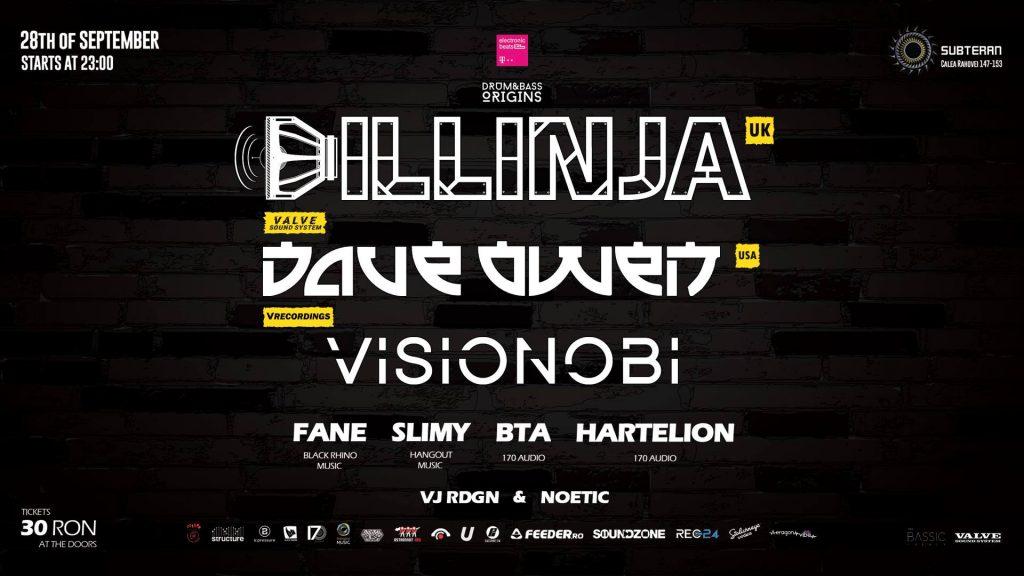 Drum & Bass Origins DILLINJA VISIONOBI & DAVE OWEN