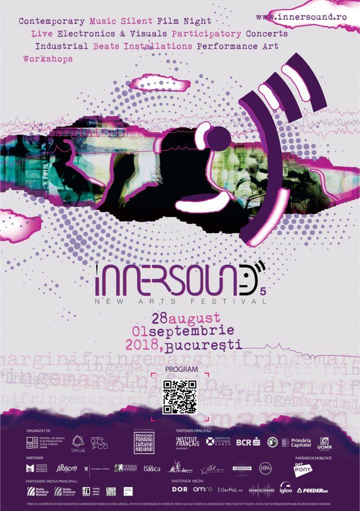 Iată programul InnerSound New Arts Festival, un eveniment care relevă interacțiuni între muzica cultă contemporană și cultura alternativă