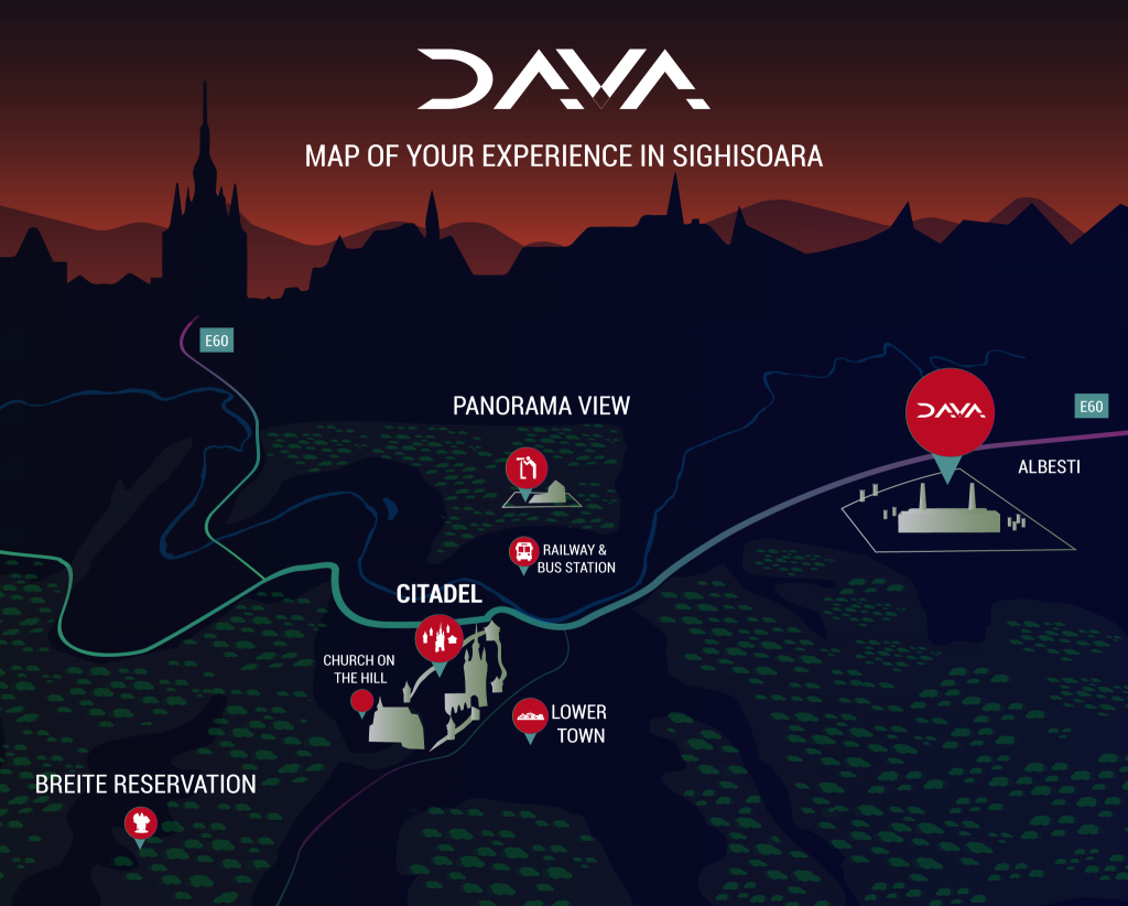 DAVA Sighisoara MAP