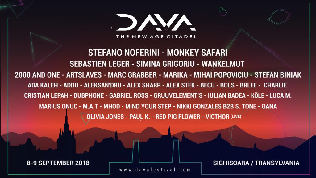 DAVA lineup