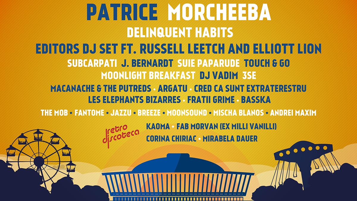 The Carnival îți aduce un line-up genial: Morcheeba, DJ Vadim, Mischa Blanos, Șuie Paparude și mulți alții