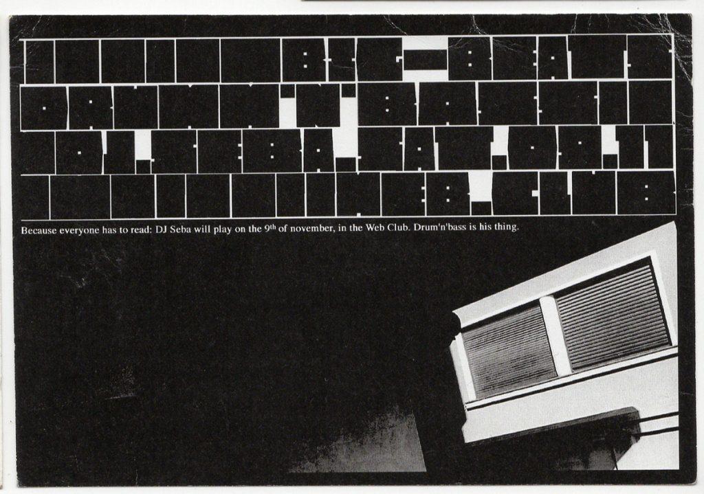DJ Seba DJ Marika Am scanat 13 flyere pentru a-ți reaminti atmosfera din The Web Club