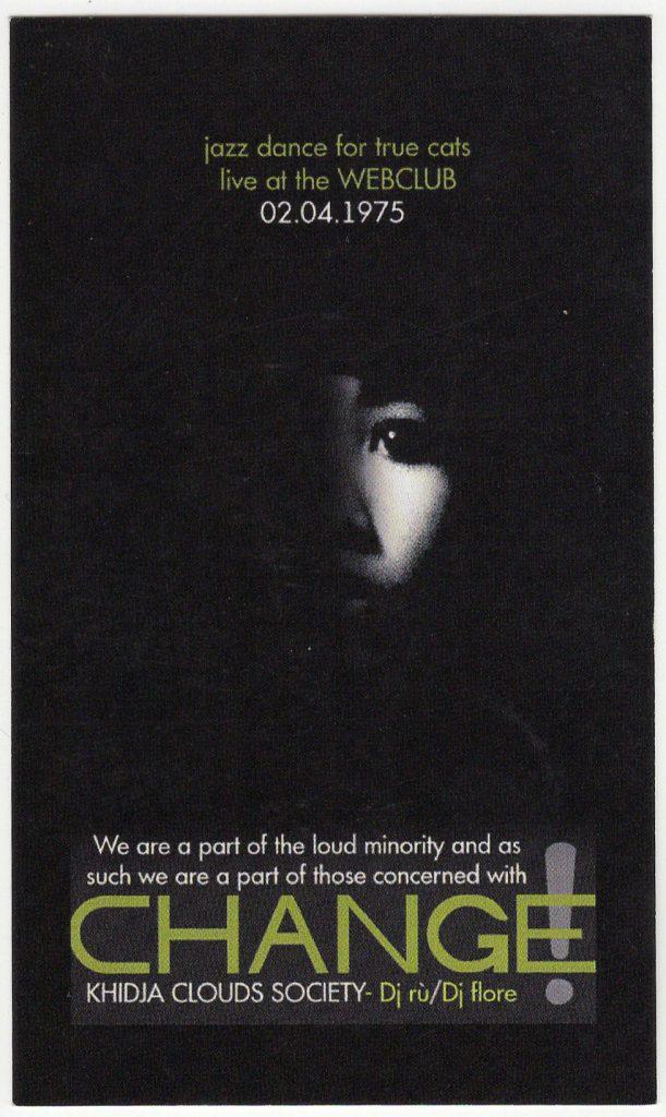 Khidja Rusu Flore Am scanat 13 flyere pentru a-ți reaminti atmosfera din The Web Club