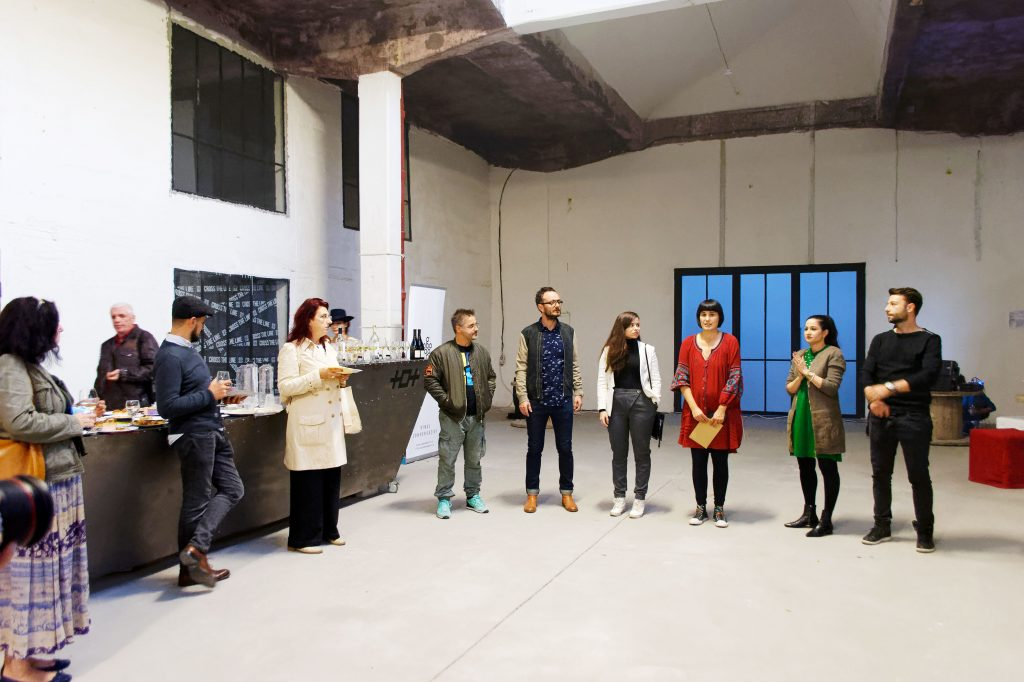 Deschiderea festivalului Black Sea Arts / Expoziție de pictură - obiect // Ramon Sadîc / 11 Octombrie 2018