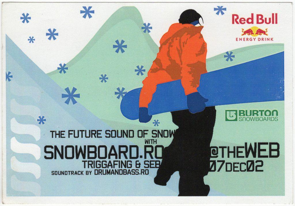 TRG DJ Seb Am scanat 13 flyere pentru a-ți reaminti atmosfera din The Web Club