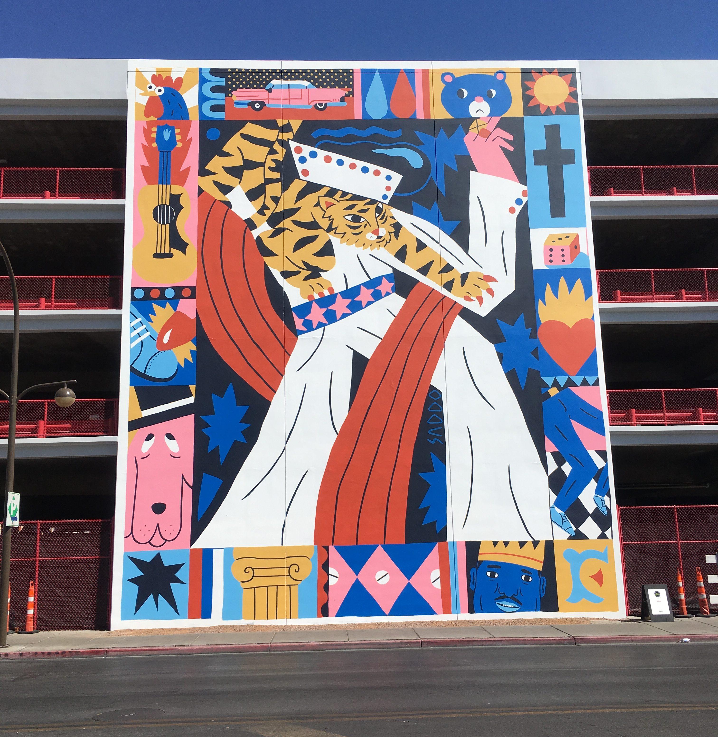 Muralul cu Elvis