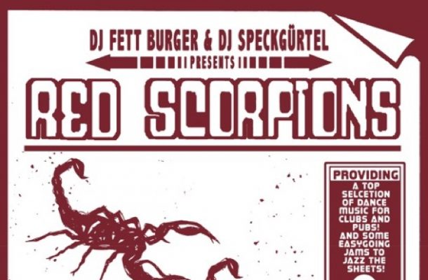DJ Fett Burger Speckgurtel Red Scorpions