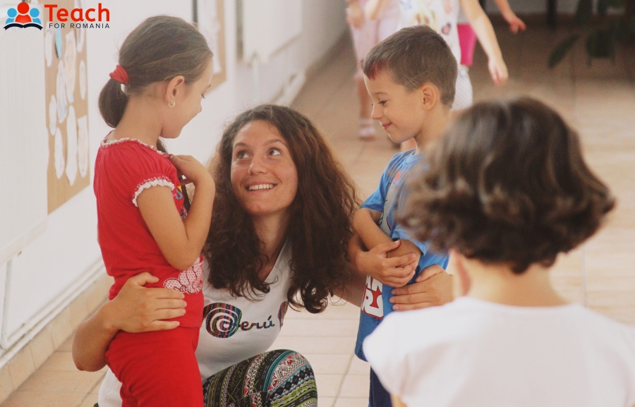 Angela Dimișcă, învățătoare. Foto: Felicia Simion