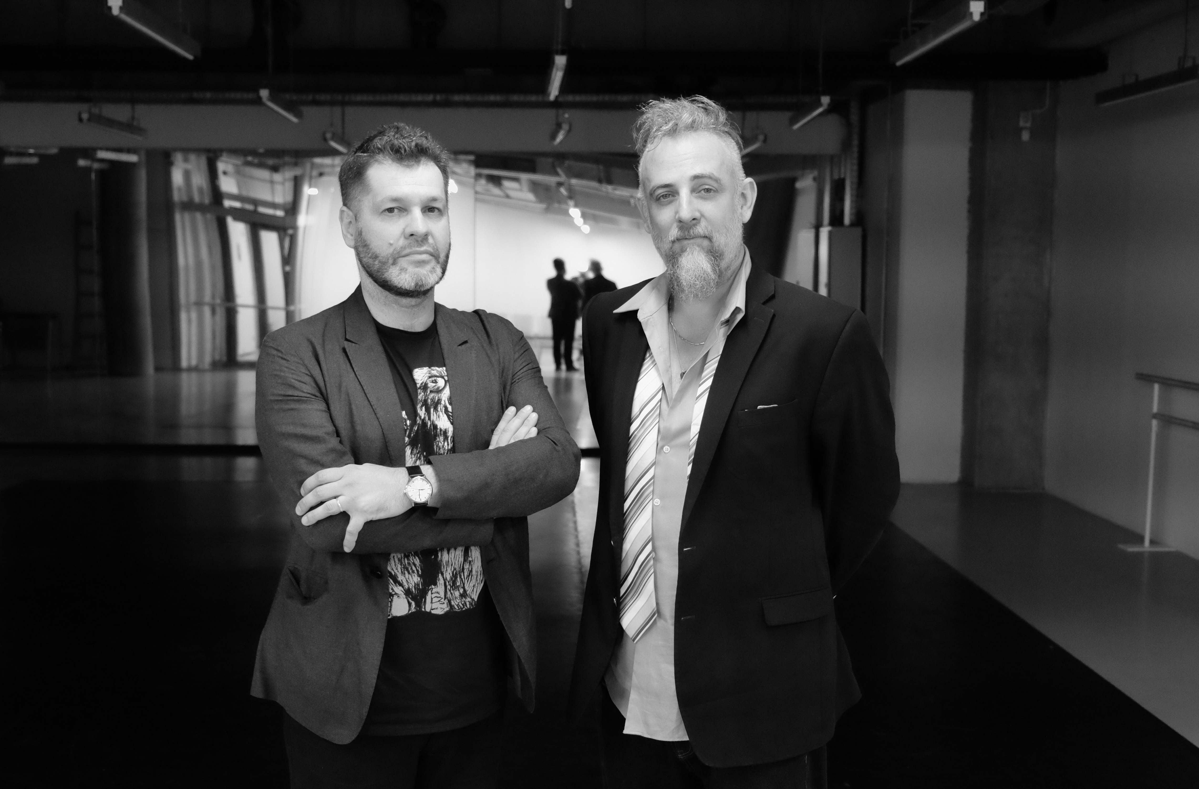 Lucian Ban și Mat Maneri. Foto: Șerban Mestecăneanu