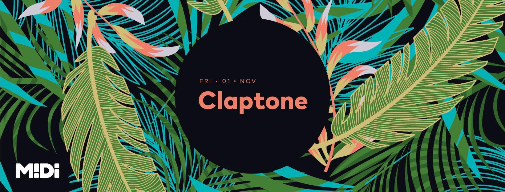 1 noiembrie: Claptone @ Club Midi