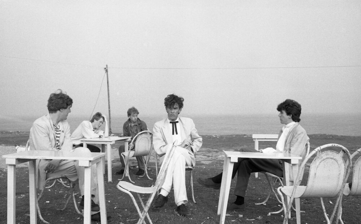 The Pop Group. Foto: Brian Griffin