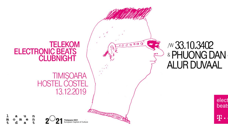 Telekom Electronic Beats clubnight - Timișoara
