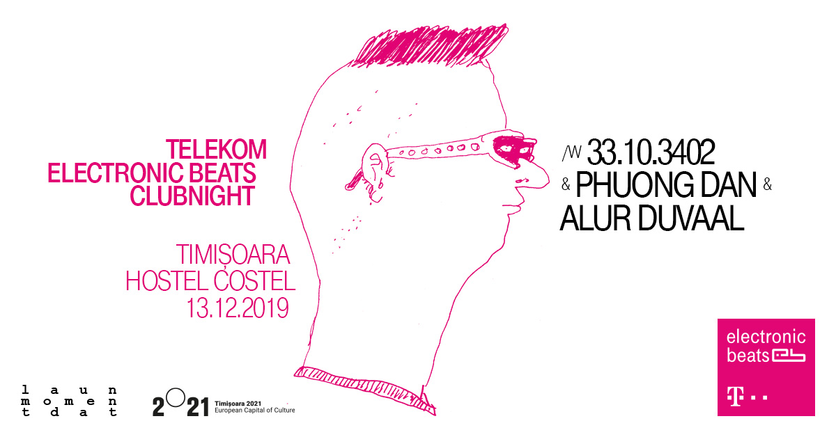 Telekom Electronic Beats clubnight - Timișoara